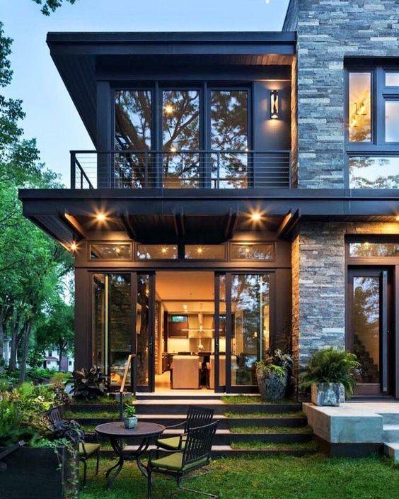 Hermosas fachadas de casas modernas 40 fotos estreno casa - Fotos de casas bonitas ...