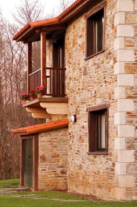 Piedras fachada fachadas aparentes piedra almodonada mmu - Piedra fachada exterior ...