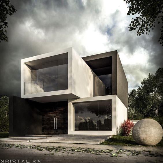 Hermosas Fachadas De Casas Modernas 40 Fotos Estreno Casa