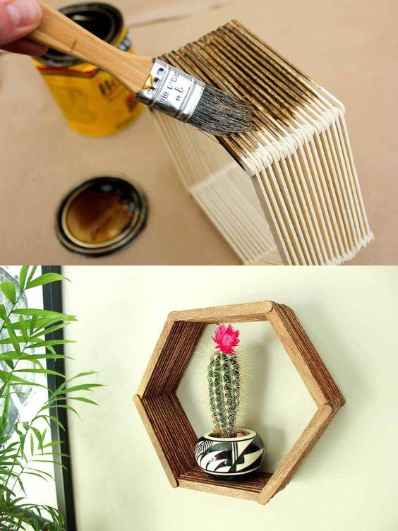 Manualidades con madera f ciles de hacer en casa estreno for Cosas hechas con paletas de madera
