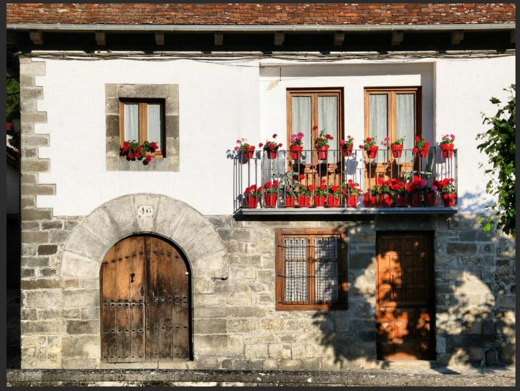 Algunas ideas de fachadas de casas de pueblo estreno casa - Casa pueblo fotos ...