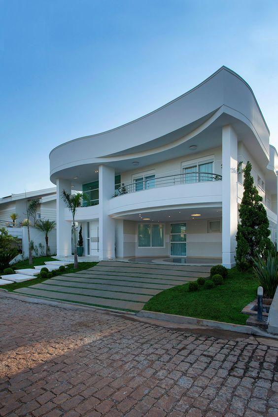 hermosas fachadas de casas modernas 40 fotos estreno casa ForFachadas De Casas Ultramodernas
