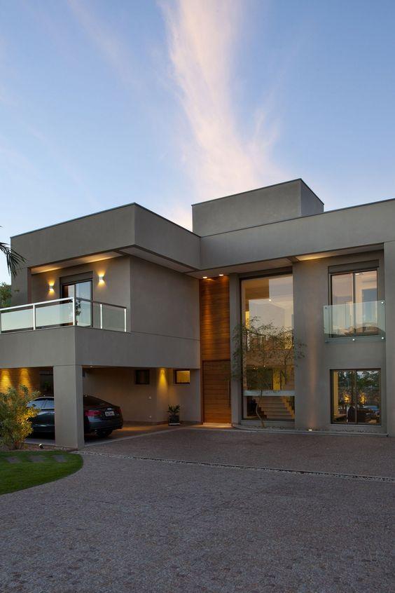 Hermosas fachadas de casas modernas 40 fotos estreno casa for Fachada de casas modernas