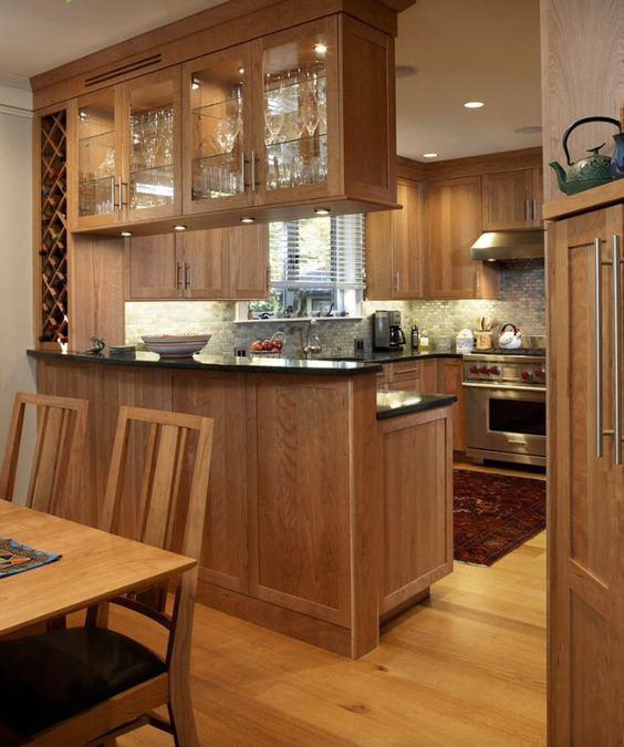 Ejemplos fascinantes de cocinas en u estreno casa - Cocina para bar ...