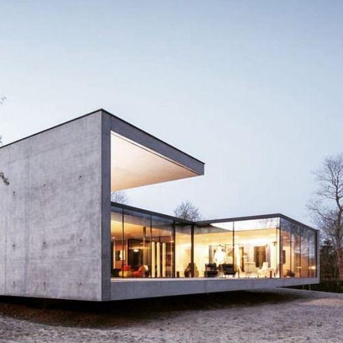 Hermosas fachadas de casas modernas 40 fotos estreno casa for Fachadas de ventanas para casas modernas