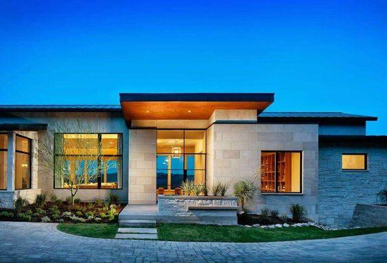 Hermosas fachadas de casas modernas 40 fotos estreno casa for Fachadas d casas bonitas