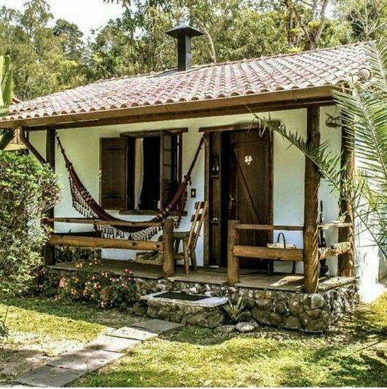 Fachadas de casas r sticas dise os que te encantar n estreno casa - Planos de casas de campo rusticas ...
