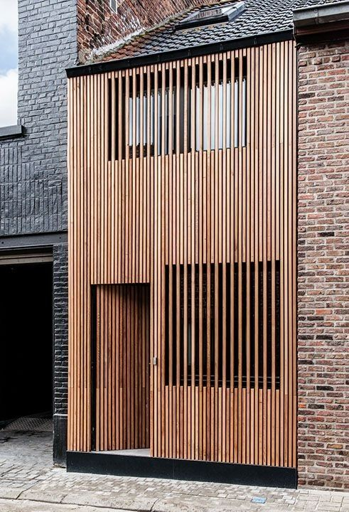 Hermosas fachadas de casas modernas 40 fotos estreno casa - Casas de madera modernas ...