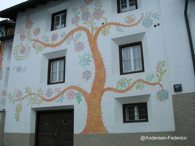 Algunas ideas de fachadas de casas de pueblo estreno casa for La casa de las pinturas