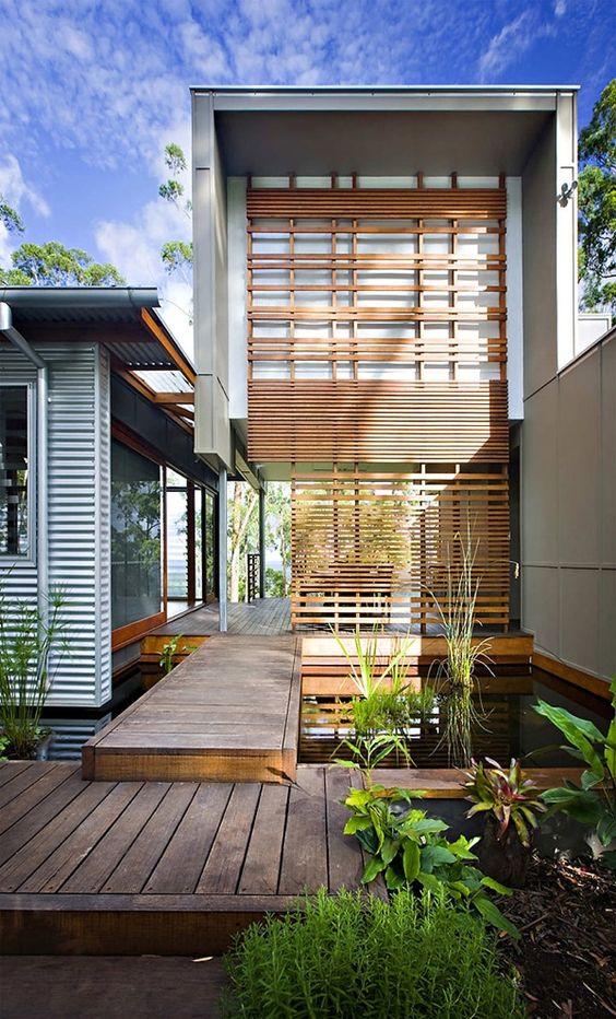 Hermosas fachadas de casas modernas 40 fotos estreno casa - Fachadas de casas modernas planta baja ...