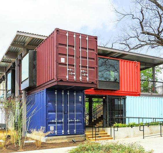 Hermosas fachadas de casas modernas 40 fotos estreno casa for Casas de container modernas