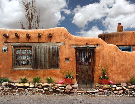 Algunas ideas de fachadas de casas de pueblo estreno casa for Fachadas de casas mexicanas rusticas