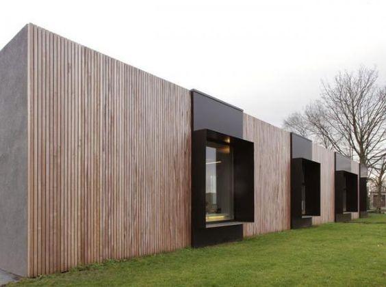 Hermosas fachadas de casas modernas 40 fotos estreno casa for Fachada casa minimalista moderna