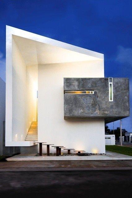 Hermosas fachadas de casas modernas 40 fotos estreno casa for Casa ultramoderna