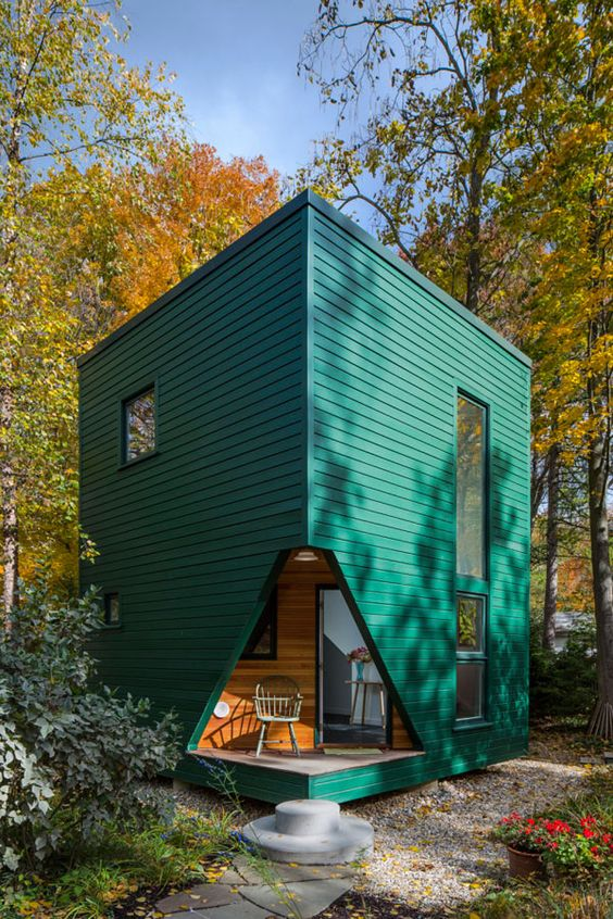 Algunas ideas de fachadas de casas de pueblo estreno casa for Casa moderna 44 belvedere