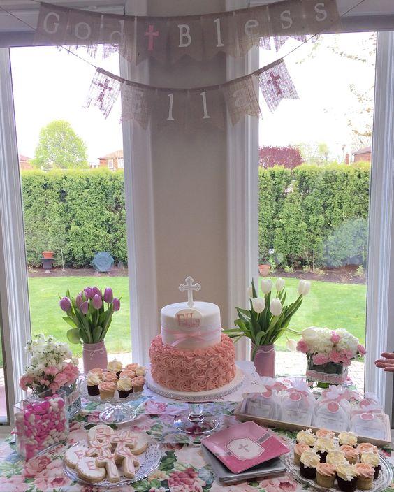 20 estilos de mesas de dulces para todas las ocasiones for Mesa de dulces para bautizo de nina