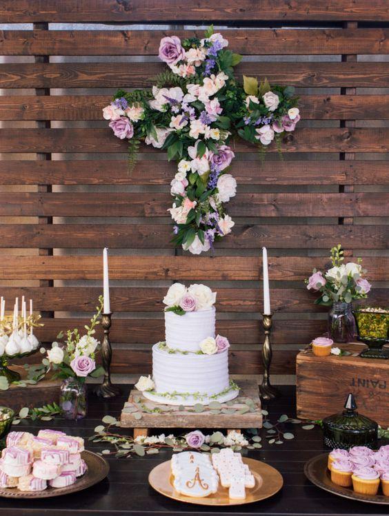 20 estilos de mesas de dulces para todas las ocasiones for Mesa dulce para bautismo