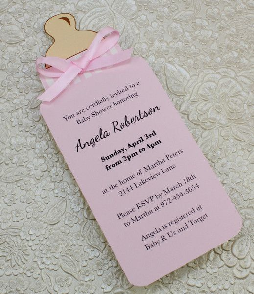 06 INVITACIONES BABY SHOWER SENCILLAS