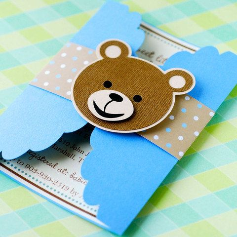 21 INVITACIONES BABY SHOWER DOBLADAs