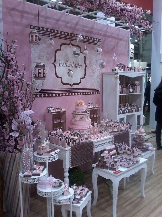 M s de 30 estilos de mesas de chuches para bodas estreno casa - Ideas para decorar mesas de chuches ...