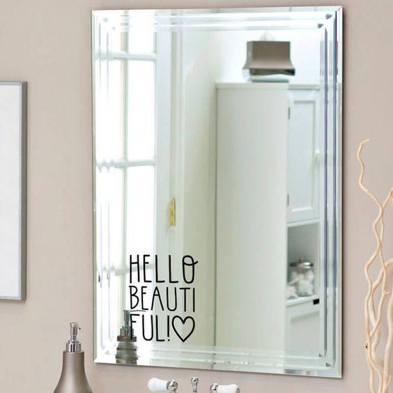 Los m s lindos vinilos para ba os que no puedes perderte estreno casa - Vinilos para espejos ...