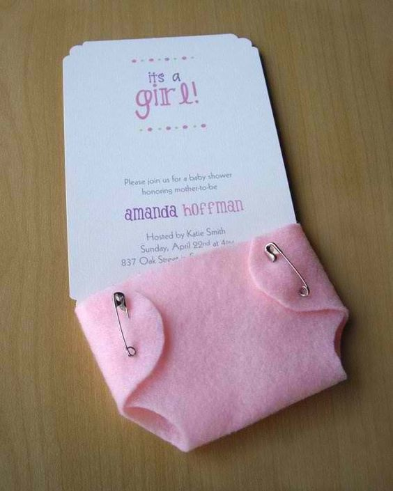 25 INVITACIONES BABY SHOWER DIY