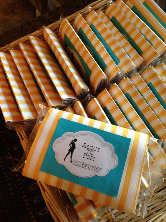 30 INVITACIONES BABY SHOWER PALOMITAS DE MAIZ
