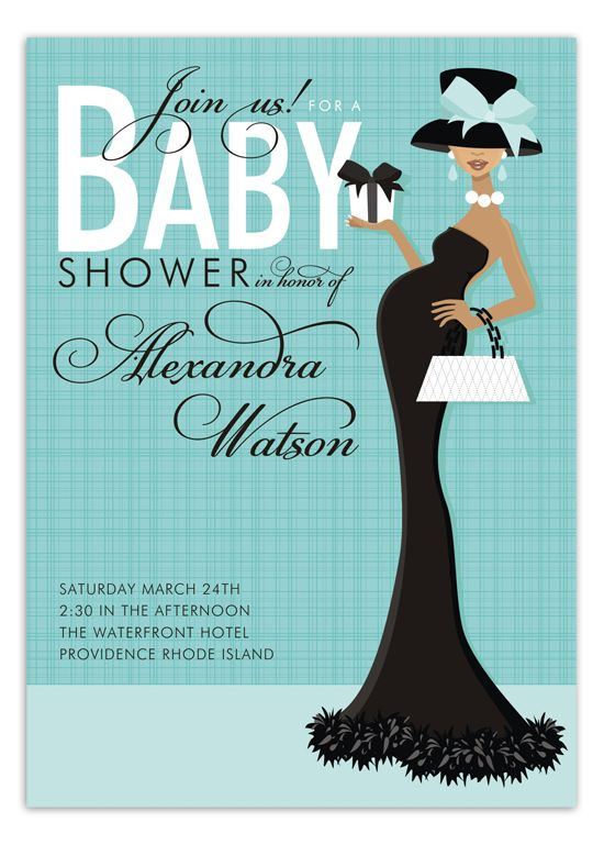 53 INVITACIONES BABY SHOWER GLAMOROSO