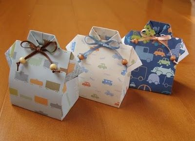 64 INVITACIONES BABY SHOWER ORIGAMI