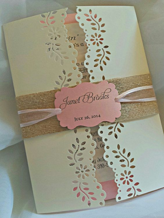 72 INVITACIONES BABY SHOWER SHABBY CHIC