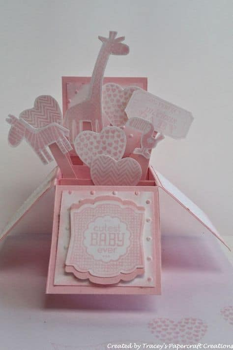 75 INVITACIONES BABY SHOWER TRIDIMENSIONALES