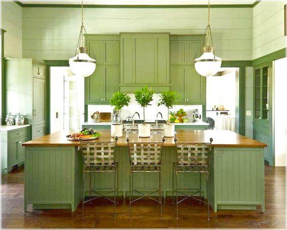 Fabulosos colores para cocinas que la petar n el 2018 for Ejemplo de color de pintura de cocina