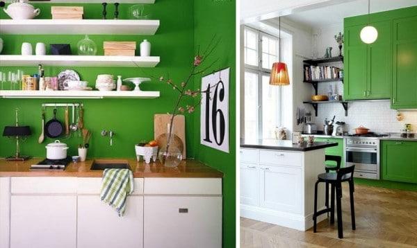 50 fotos de colores para cocinas 2020 estreno casa - Cocinas pintadas fotos ...