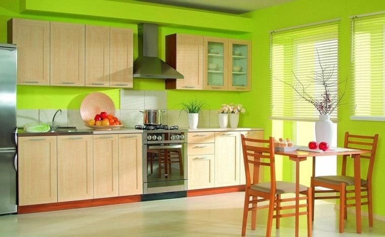Fabulosos Colores Para Cocinas Que la Petarán el 2018 - Estreno Casa