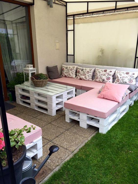 Blog estreno casa for Muebles jardin madera palet