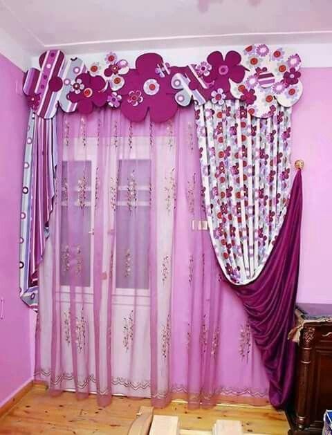 30 estores y cortinas infantiles que te van a encantar - Cortinas de habitacion ...