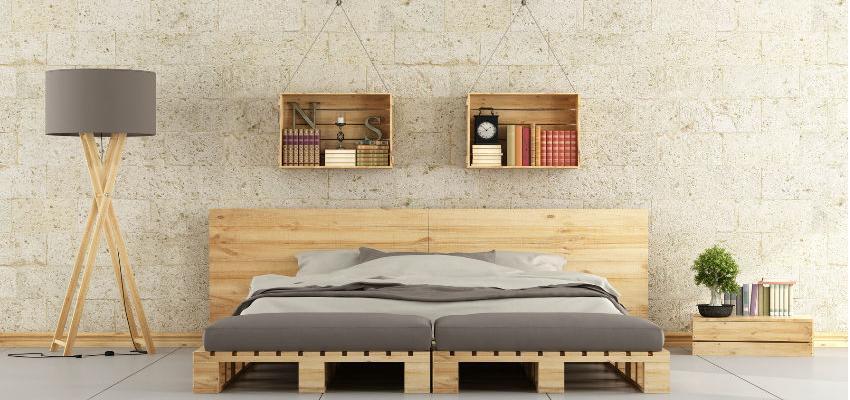 decoracion con palets de madera
