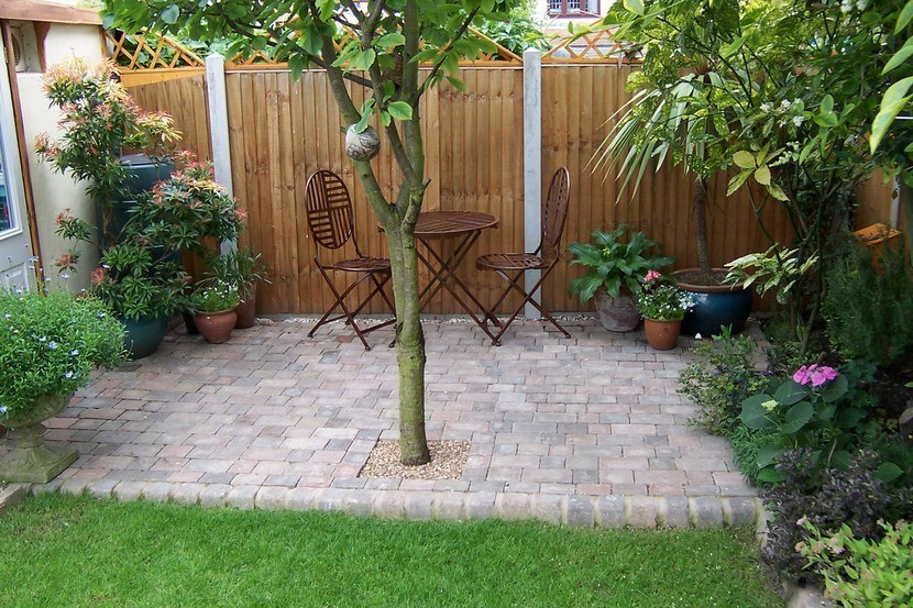 Paisajismo Para Jardines Pequenos Y Patios Traseros Estreno Casa - Paisajismo-jardines