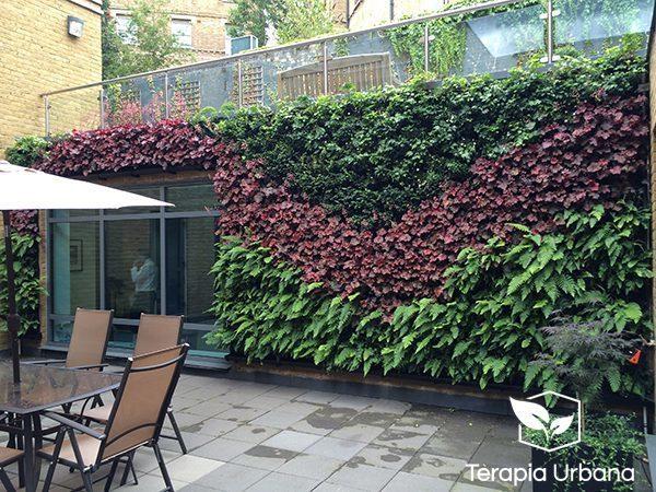 Los m s lindos jardines verticales de interior y exterior for Caracteristicas de los jardines verticales