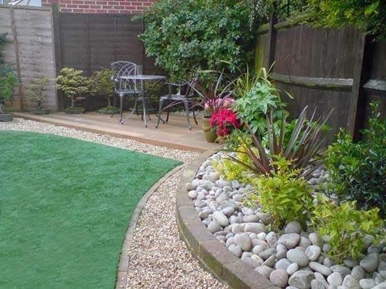 Paisajismo para jardines peque os y patios traseros - Casas y jardines ...