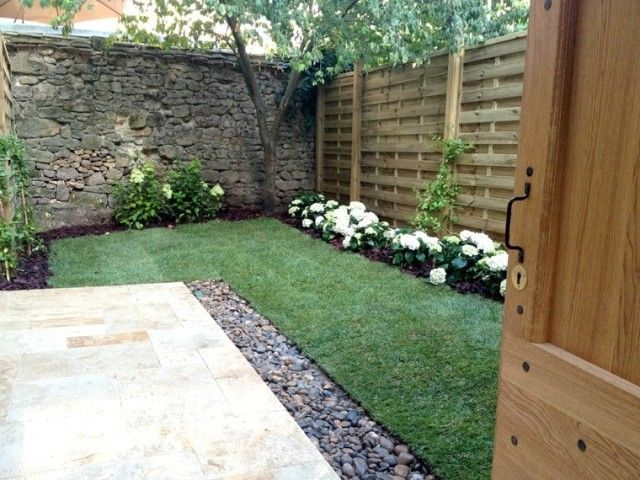 Paisajismo Para Jardines Pequenos Y Patios Traseros Estreno Casa - Patios-jardines-pequeos
