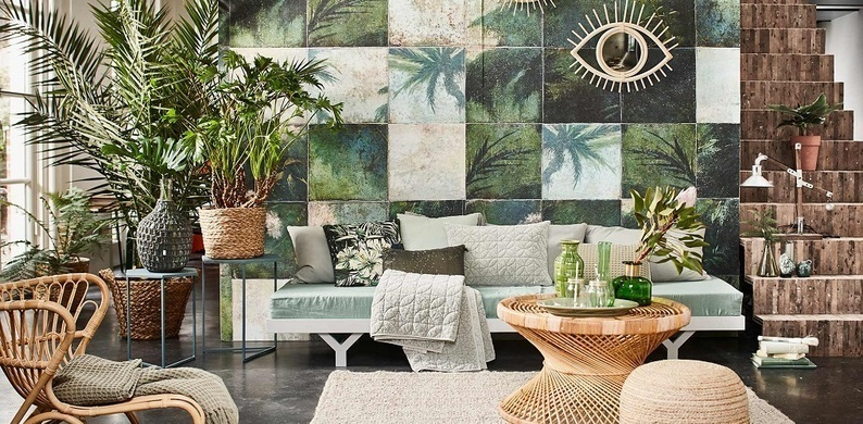 decoracion con plantas de interior