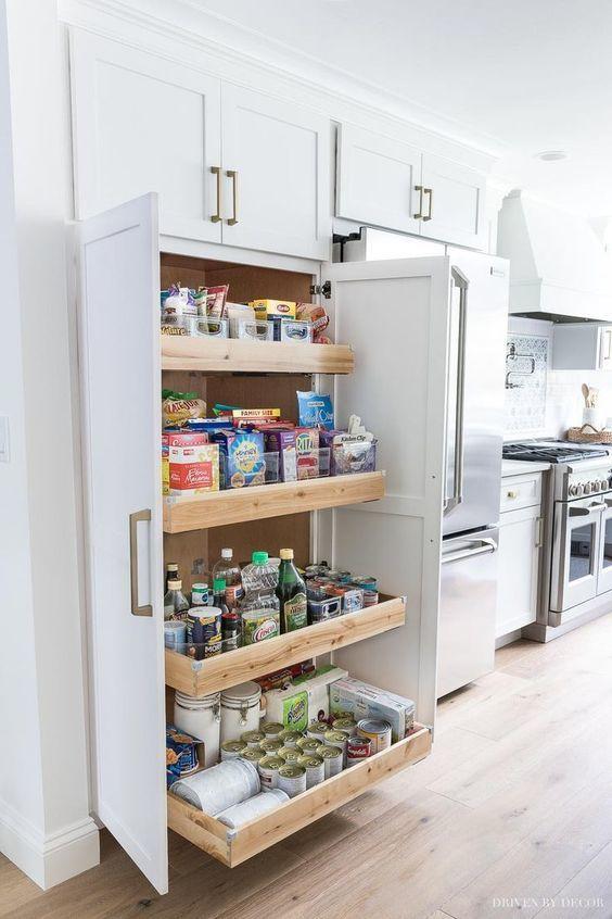 almacenaje de comida
