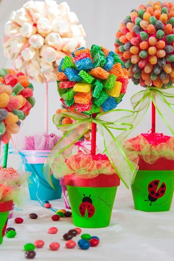 Recuerdos Para Bautizo Nino Con Dulces.25 Estilos De Mesas De Dulces Candy Bar Para Todas Las