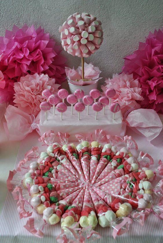 25 Estilos De Mesas De Dulces Candy Bar Para Todas Las