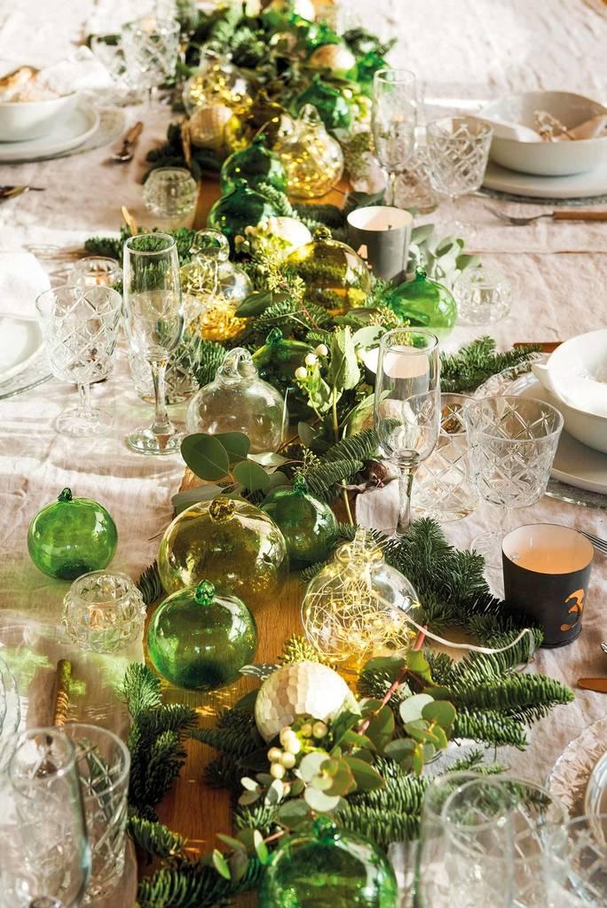 Centros de mesa para Navidad 2020