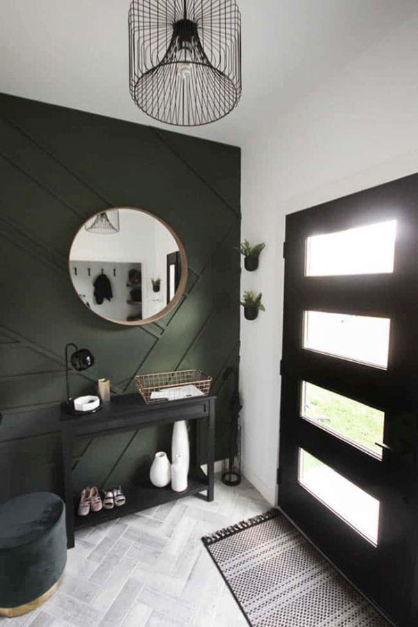 como-decorar-un-recibidor-pequeno-negro-milideas