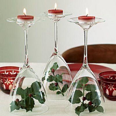 centros-de-mesa-navidad-posavelas-copas-decoraideas
