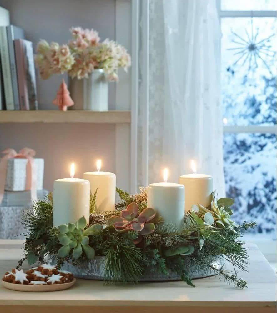 centros-de-mesa-navidad-rustica-suculentas-decoraideas