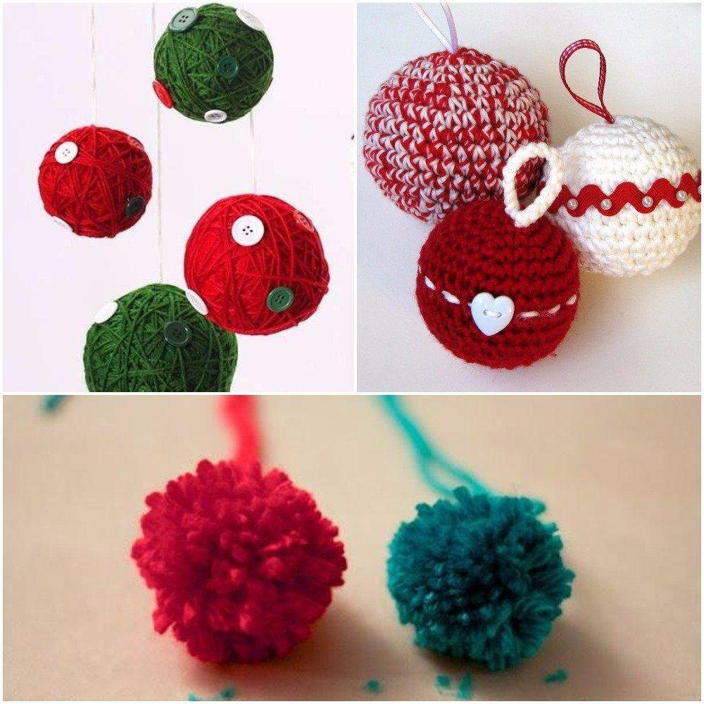 como-hacer-bolas-de-navidad-caseras-pompon-ideaspara